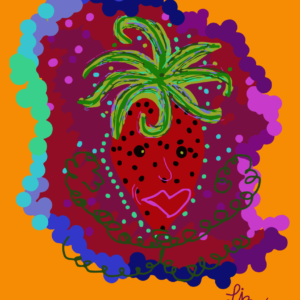 Strawberry by Liz Etmanski